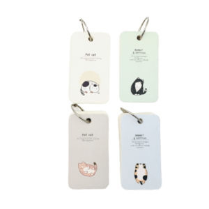 σημειωματάριο γατάκια