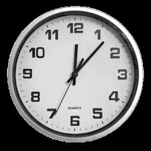 Ρολόι τοίχου ασημί