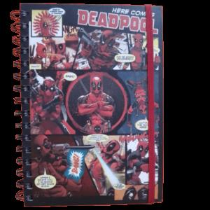 Σημειωματάριο τετράδιο Deadpool