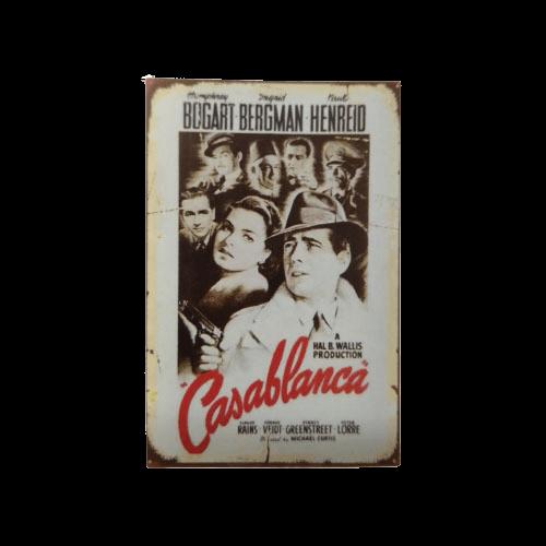 Πινακίδα Casablanca