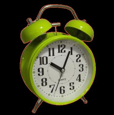 Ρολόι ξυπνητήρι πράσινο