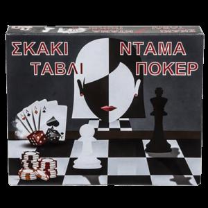 ντάμα τάβλι πόκερ